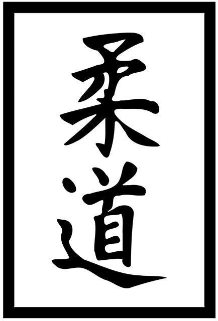 Judo_kanji